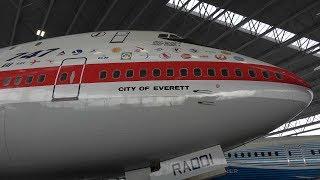 4K | Seattle - Museum of Flight | Aviation Pavillion