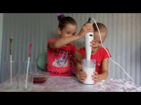 Как сделать молочный коктейль.Рецепт молочного коктеля.