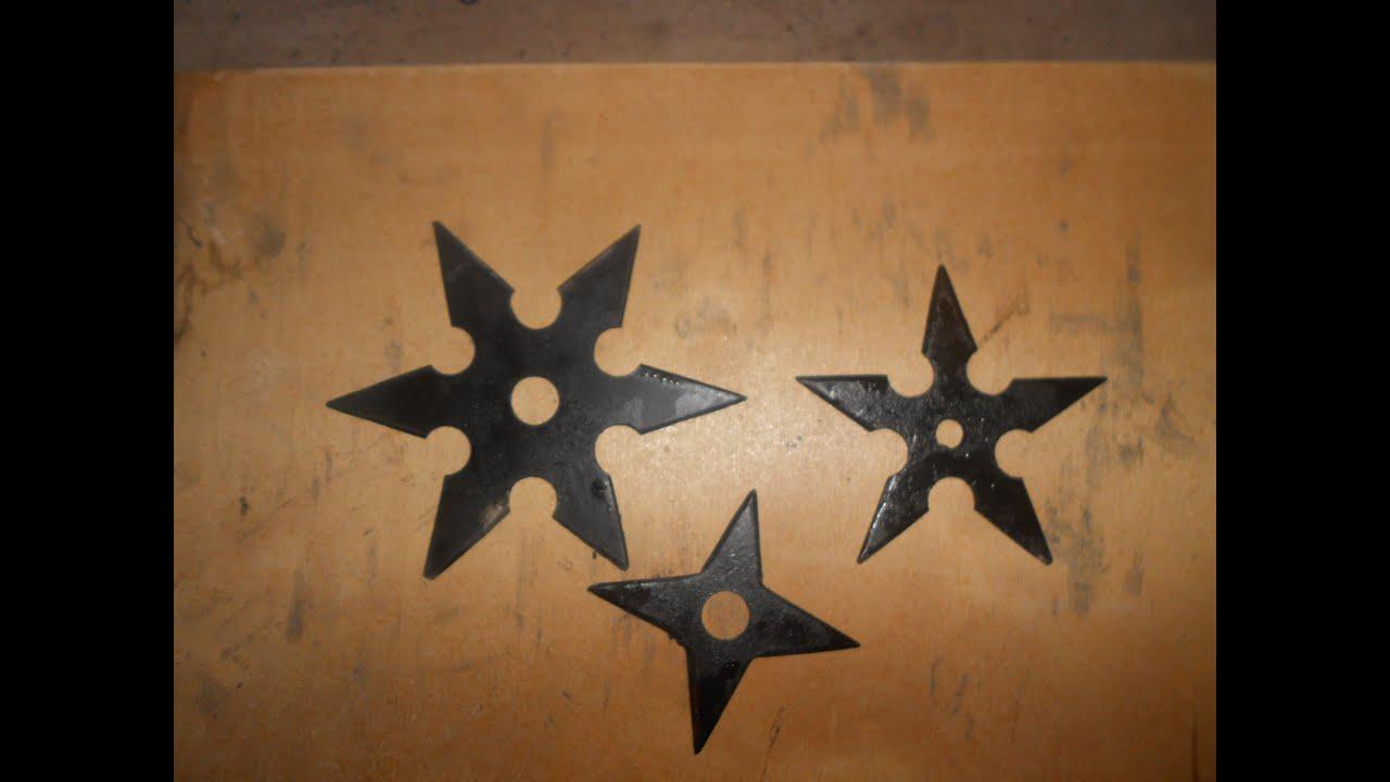 Метательные звёзды своими руками 29