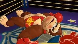 Punch-Out!! Wii - All Donkey Kong Challenges