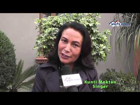 Kunti Moktan wishes White Himal TV