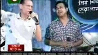 Guru Azam Khan & Asif Akbar  [Boishakhi TV Live]