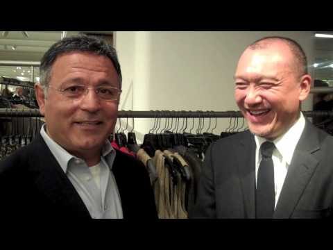 5 Questions for Elie Tahari with Joe Zee