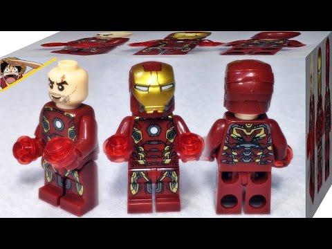 sy 어벤져스 아이언맨 마크 45 슈트 SY 레고 짝퉁 미니피규어 리뷰 Lego knockoff avengers 2 iron man mark 45 suit minifigures