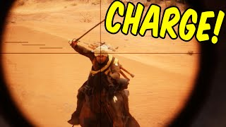 CHAAARGE! - Battlefield 1 Funny Moments & Epic Stuff