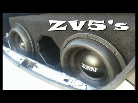 2 Sundown Audio ZV5 12's on 7000 Watts!