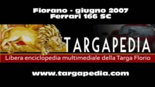 Ferrari 166 SC 1949 - Fiorano 2007