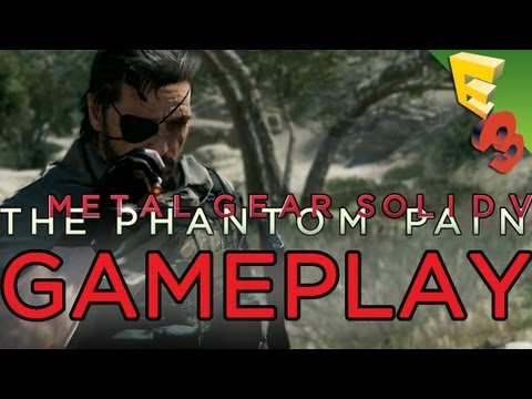 Metal Gear Solid 5: GAMEPLAY TRAILER! The Phantom Pain Xbox One Footage!