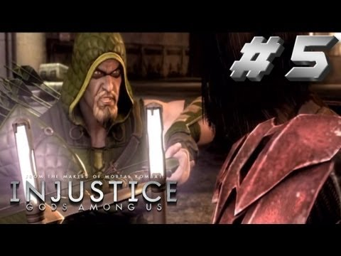 Injustice Story Walkthrough Part 5 Damian you're dead to me!