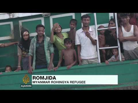 Stranded Rohingya migrants speak to Al Jazeera