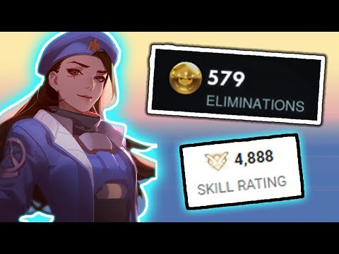 This Is What The Rank 1 Ana Player Looks Like - Overwatch