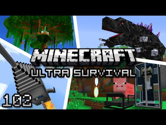 Minecraft: Ultra Modded Survival Ep. 102 - REKT