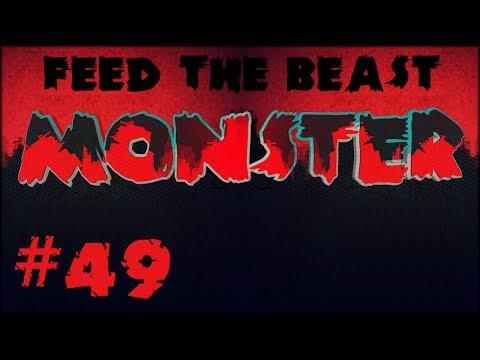 FTB Monster - #49 Making UU Matter & Iridium & Extreme Voltage Windmills!