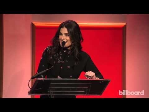 Idina Menzel Accepts Breakthrough Artist Honor - Billboard Women in Music 2014