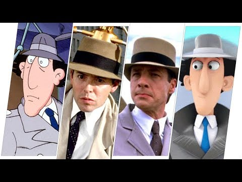 Inspector Gadget Evolution in Cartoons & Movies