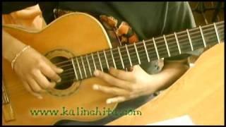 Una Copa más - Los Panchos - Como tocar en Guitarra acordes