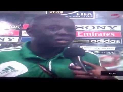 Nigeria U-17 Coach Musa Garba Interview FIFA World Cup UAE 2013