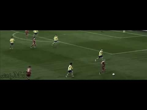 Arjen Robben epic dive in the match vs Arsenal
