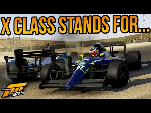 Forza 6 X Class Stands For...