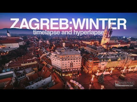Zagreb - Winter | Hyperlapse and timelapse.