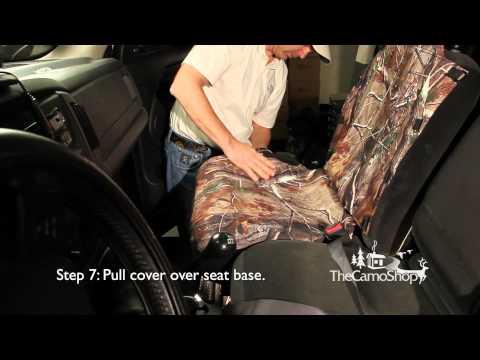 Universal Neoprene Seat Cover Installation