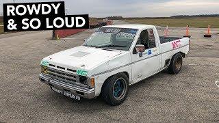 Nissan Hardbody Drift Truck Track Review
