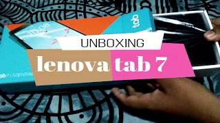 LENOVA TAB 7 essential#