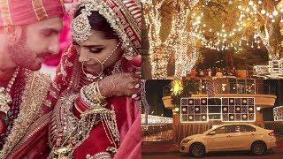 Ranveer Singh Welcomes Wife Deepika Padukone With This Beautiful Decoration♥