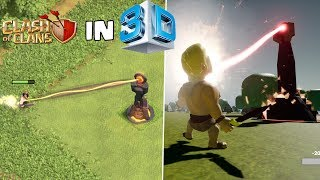 CLASH OF CLANS in 3D!