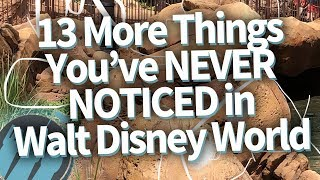 13 COOL Things You May Not Have Noticed at Walt Disney World!!