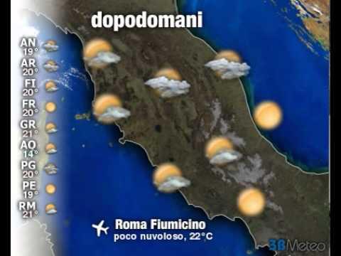 Meteo Italia a 3 giorni del 08/10/2011