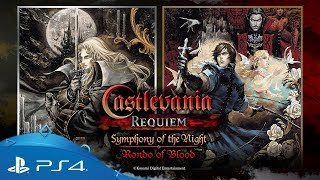 Castlevania Requiem: Symphony of the Night & Rondo of Blood   Announcement Trailer   PS4