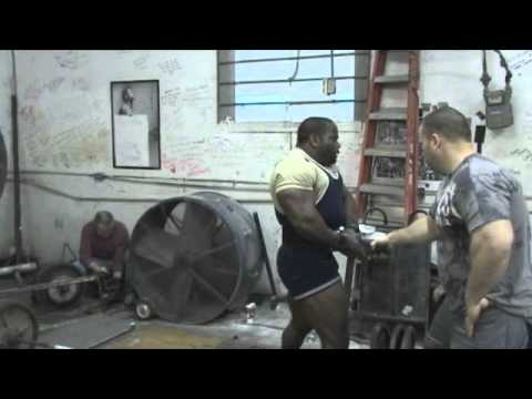 Johnnie Jackson Powerlifting Training pt 1 12-20-11 Image 1