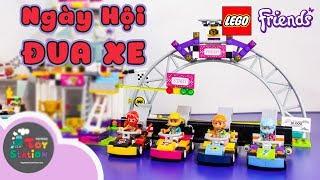 LEGO Friends Tiệm Hamburger Tốc Độ 41349 và Ngày Hội Đua Xe 41352 trong cùng một tập ToyStation 268