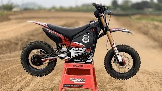 First Ride Oset MX-10 Electric Dirt Bike - Motocross Action Magazine