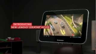 Lenovo IdeaTab A2109 tablet tour