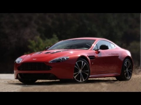 2013 Aston Martin V12 Vantage Driven on Canyon Roads - CAR and DRIVER