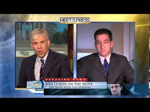 Glenn Greenwald on Edward Snowden Asylum & NSA Revalations