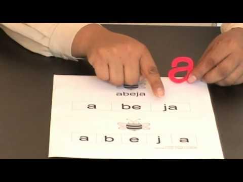 Como enseñar el abecedario al niño?