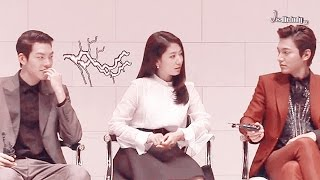 Minshin story : The dream, always 6 (2) - The Heirs Press Conference : interview