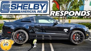 SHELBY Responds To FORD And My BROKEN GT500 Super Snake!