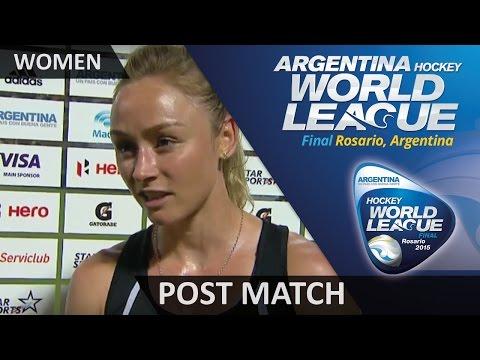 Post Match Interview Anita Punt #HWL2015 #Rosario
