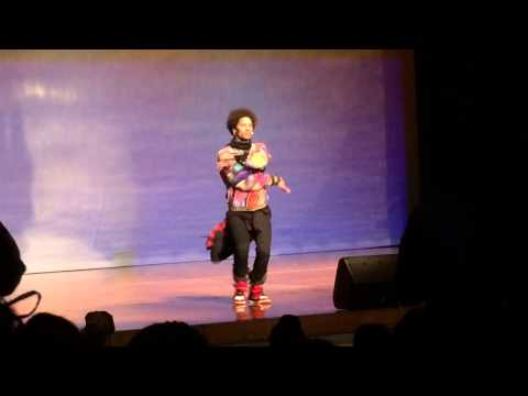 Les Twins Freestyle At Suitland High School video