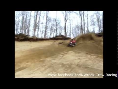 kxf450 vs Outlaw 450 vs kfx450r sand pit WCR