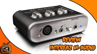 Review Interfaz Usb M Audio II (en Español)  Kabuto TV