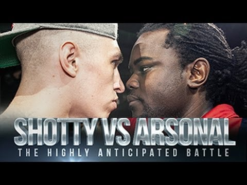 SHOTTY HORROH VS ARSONAL   Don't Flop Rap Battle