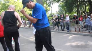 4th of July at the Central Park Skate Circle 2015 Dancing with DJ Ray Vasquez