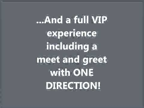 WIN FREE VIP ONE DIRECTION TICKETS - ONLY 22 SPOTS LEFT