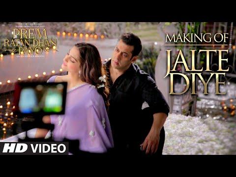 Making of 'Jalte Diye' VIDEO Song | Prem Ratan Dhan Payo | Salman Khan, Sonam Kapoor | T-series