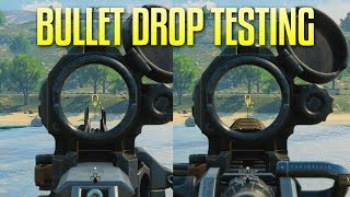 Blackout Bullet Drop Testing (Caliber Matters!)